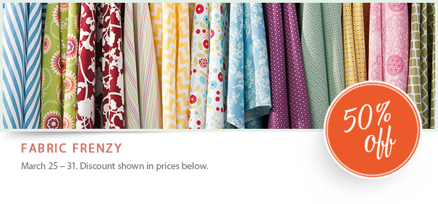 Fabric on sale