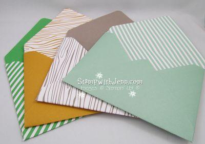 In color envelopes