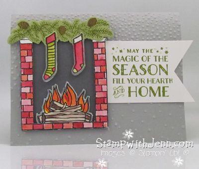 Festive fireplace 2