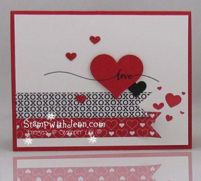 Stacked with love designer Valentines