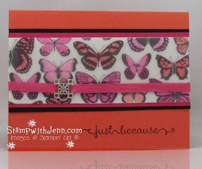 Sheer Vellum butterflies