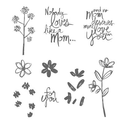 Mother's love stamp set